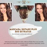Máscara Shitake Plus Bio Extratus: Reconstrução Nutritiva