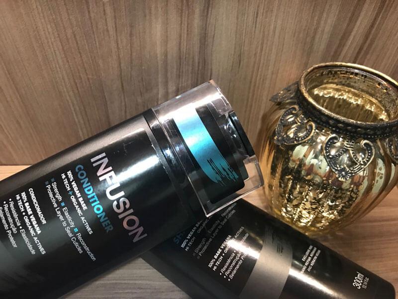 shampoo e condicionador Infusion Truss
