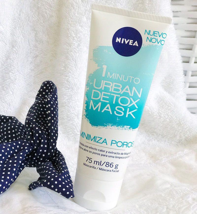 urban detox mask nivea minimiza poros