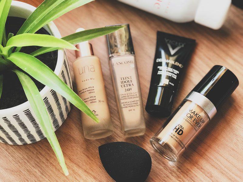 bases para peles maduras