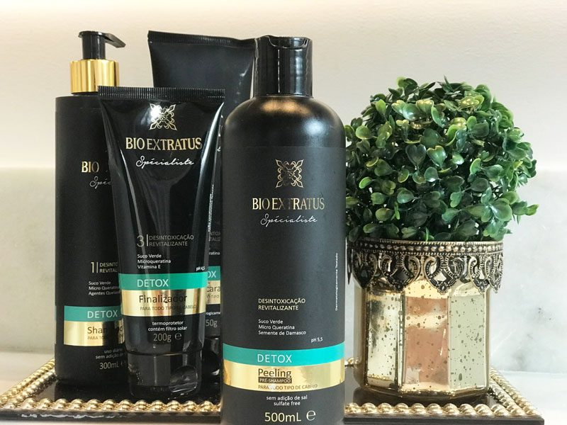 Pré Shampoo Peeling Detox Bio Extratus