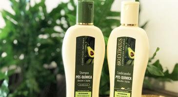 Pós Química Bio Extratus: Shampoo e condicionador