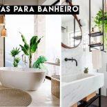 Plantas para Banheiro: Quais Usar?