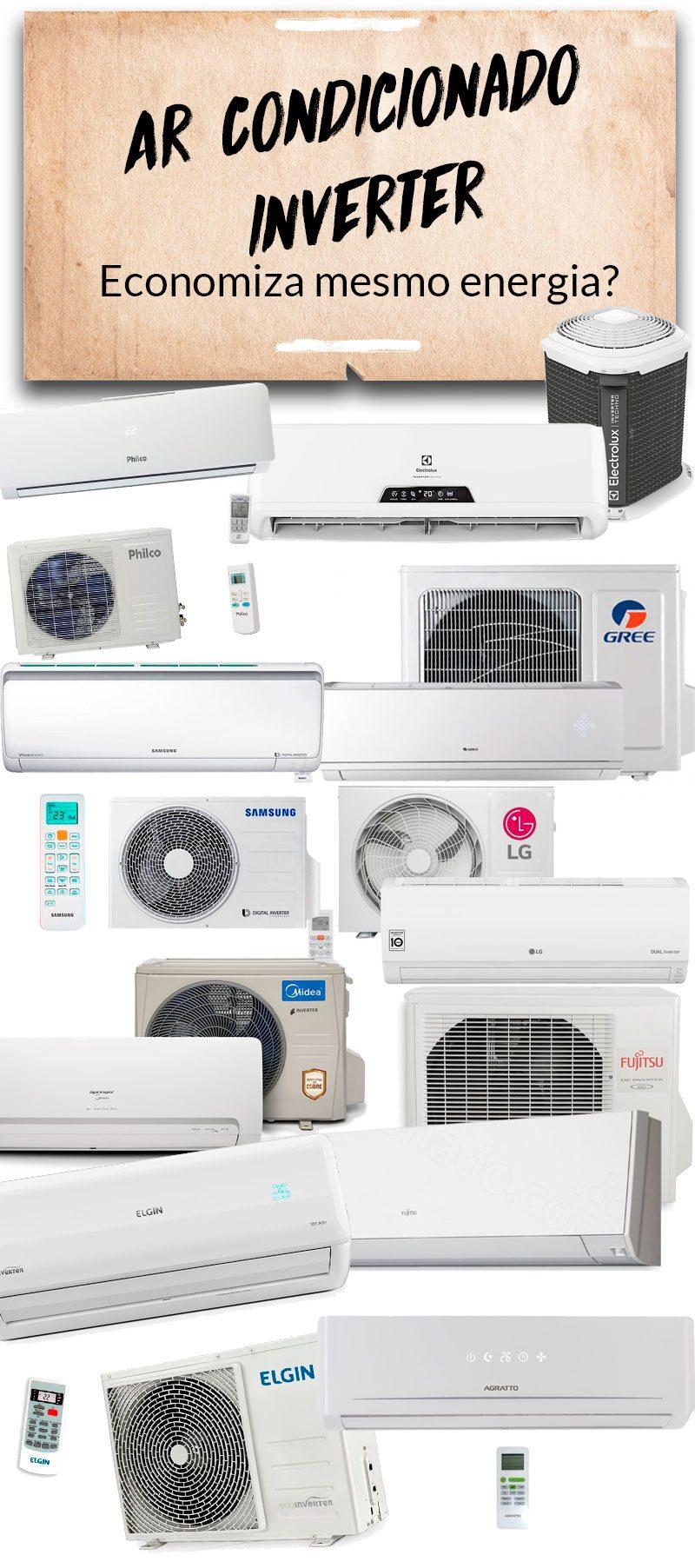 ar condicionado inverter economiza energia