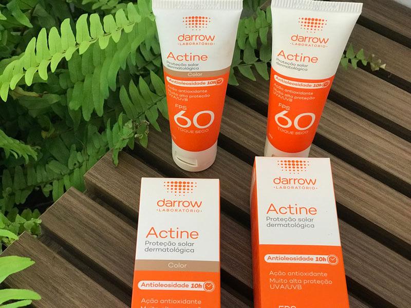 Actine Protetor Solar FPS 60