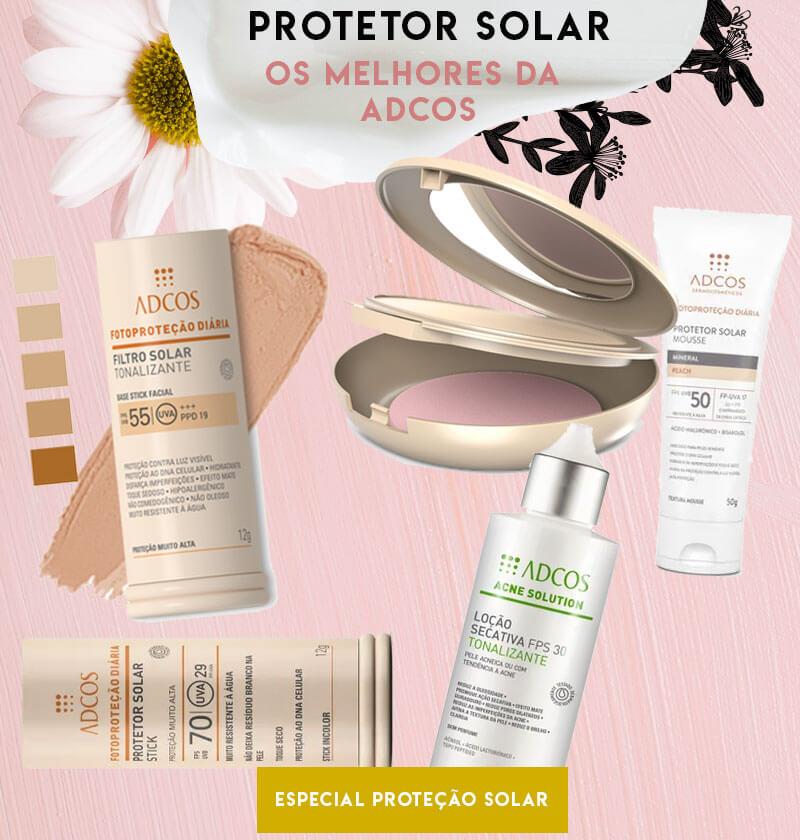 melhores protetores solares adcos com cor e sem cor