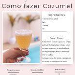 Como Fazer Cozumel: o drink do verão!