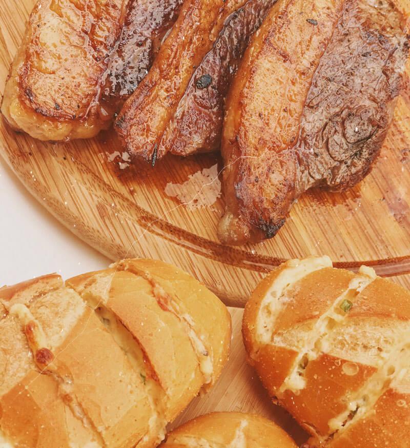 receita de molho de pão de alho churrasco