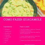 Receita de Guacamole Fácil e Delicioso!