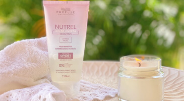 Nutrel Gel De Limpeza Sensitive Profuse