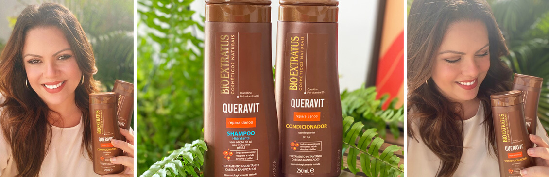 Queravit Bio Extratus: Shampoo e Condicionador