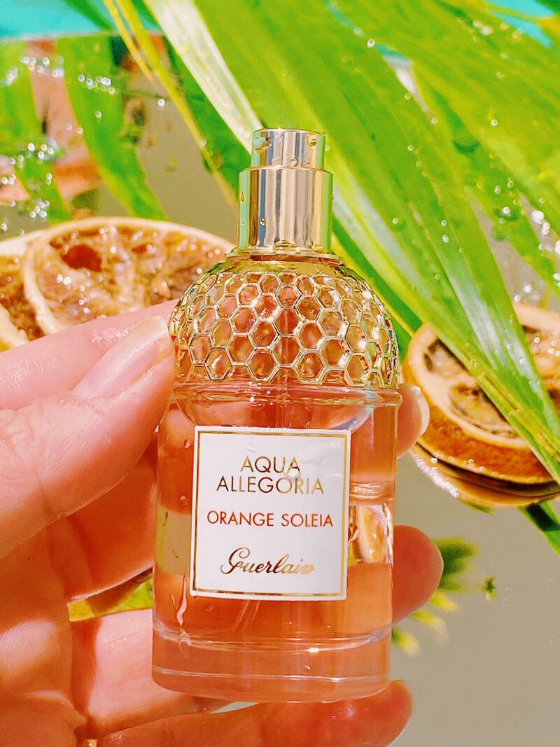 perfume  guerlain aqua allegoria