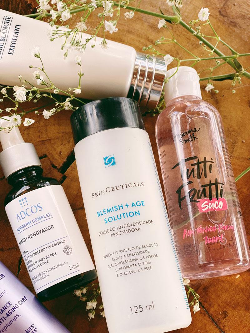 melhores produtos de pele